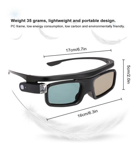 G500 Active Obturador 3d Óculos Compatível Com Projetor Dlp-