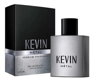 Perfume Kevin Metal Hombre Edt 100 Ml Envio Gratis
