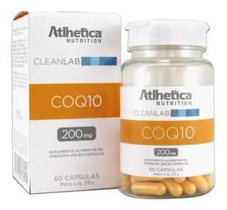 Coq10 200mg 60 Cápsulas - Atlhetica Nutrition