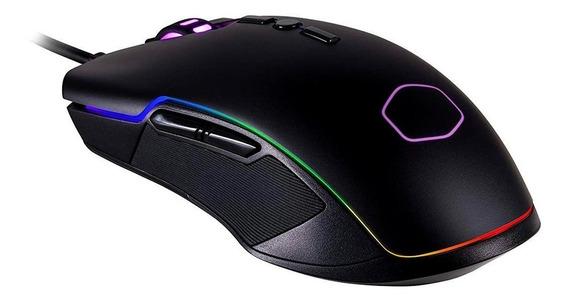Mouse Gamer Cooler Master Cm310, Rgb, 8 Botões, 10000dpi - C