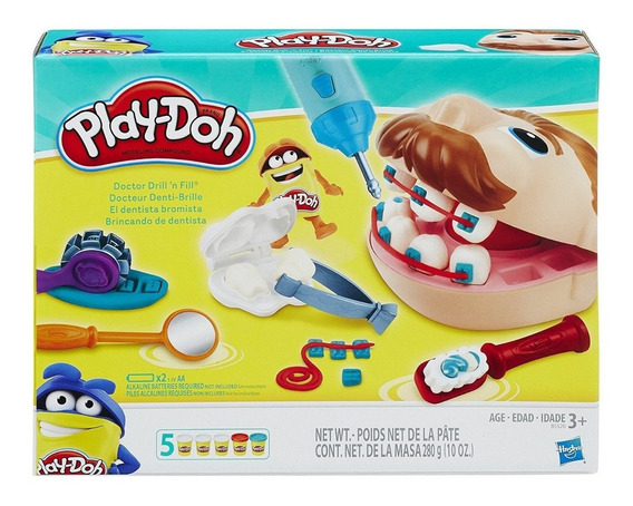 Play Doh Plastilina Set Dentista Retro
