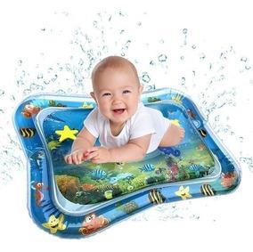 Kit 2 Tapete Água Inflável Atividades Almofada Infantil Bebê