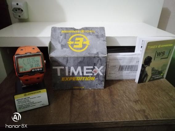 Relógio Timex Expedition Ws4 Laranja, Baixei Valor P Vender.