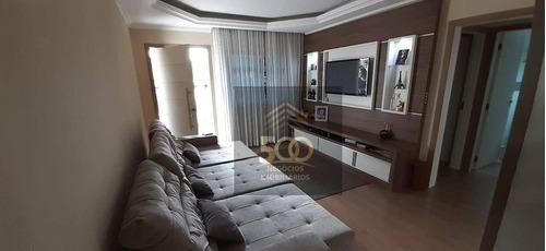 Ca0276 - Casa Com 3 Dormitórios À Venda, 160 M² Por R$ 495.000 - Potecas - São José/sc - Ca0276