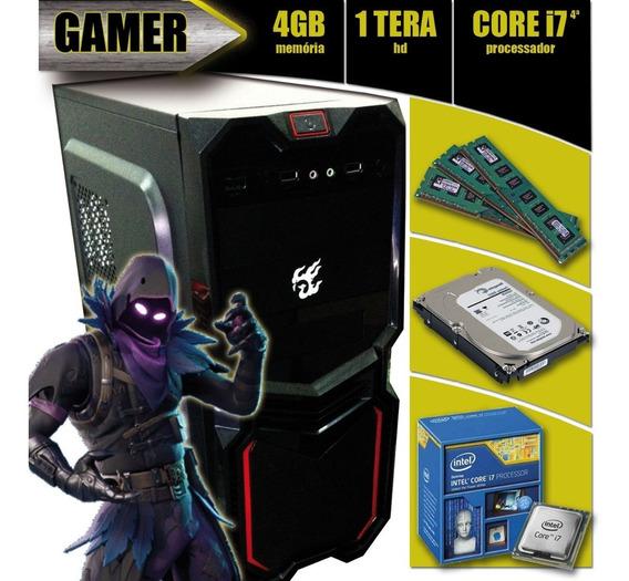 Pc Gamer I7-4790 + 4gb + 1tb + Asus H81