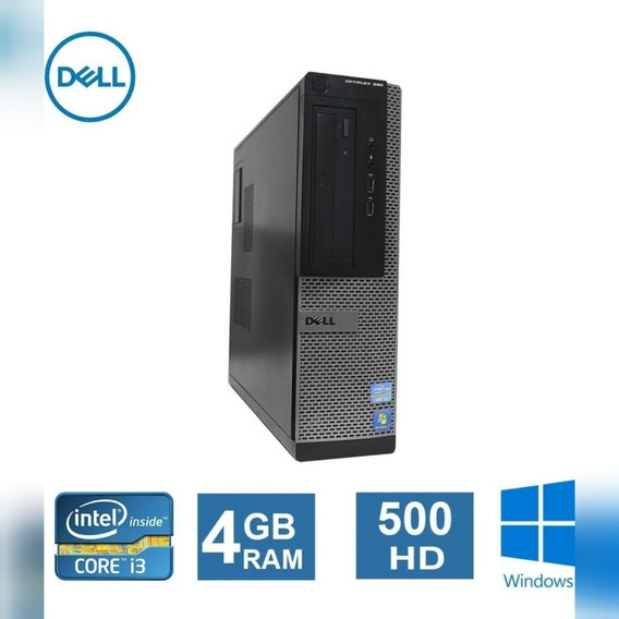 Desktop Dell Optiplex 390 I3 4gb Hd500gb + Wi-fi Hdmi