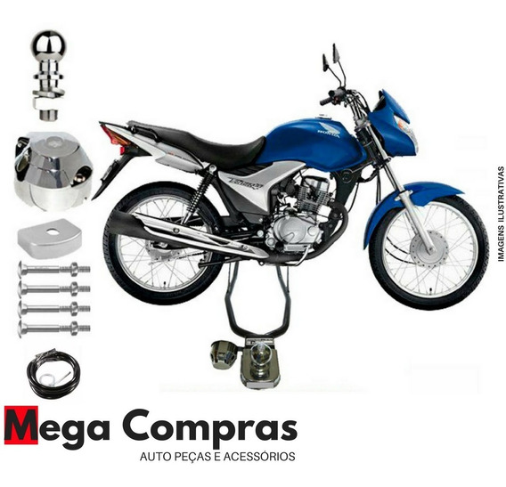 Engate Para Reboque Moto Honda Cg Titan 150 - 2014 2015 2016