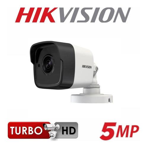 Imagen 1 de 4 de Cámara Hikvision 5mp Turbo Exterior Lente 2.8mm 16h0t Itf