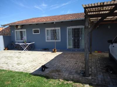 Casa Em São Francisco Do Sul, Bairro Rocio Grande - Sc