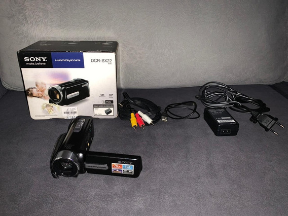 Filmadora - Handycam - Sony Dcr-sx22 70x Zoom