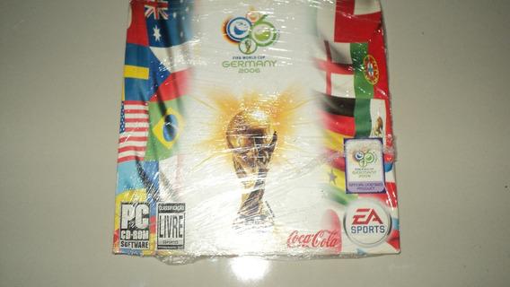 Jogo Pc Original - Fifa World Cup Germany 2006 Coca Cola