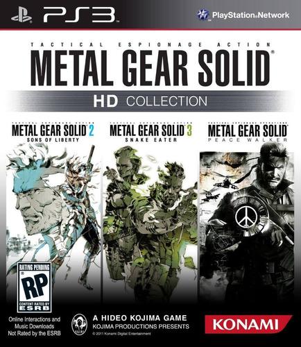 Metal Gear Solid Hd Collection Juego Digital Ps3