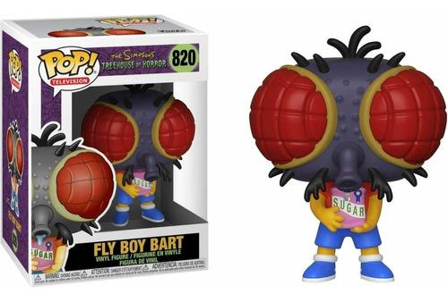 Funko Pop Tv Simpsons Bart Chico Mosca Treehouse Horror #820