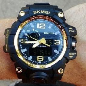 Relógio Skmei 1155 2em1 Analógico E Digital À Prova D