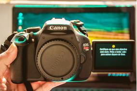 Canon T3i Nova Somente O Corpo