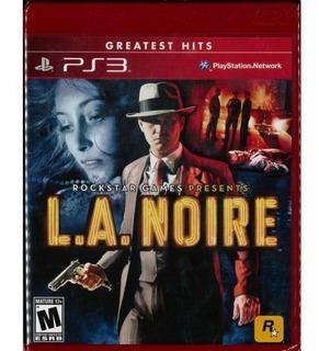 Ps3 Juego L.a Noire Compatible Con Playstation 3