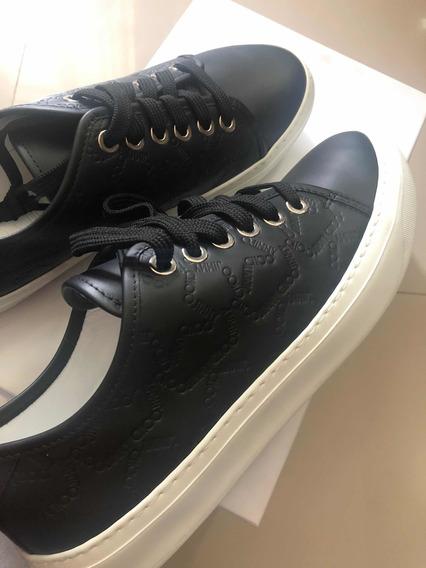 Sneakers Jimmy Choo London Piel 9 Mex Nuevos