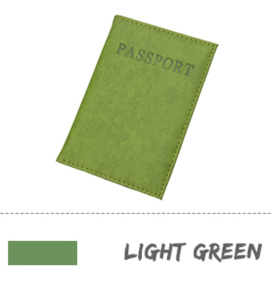 Cubre Porta Pasaporte Funda Cubierta Compacta Acolchonada