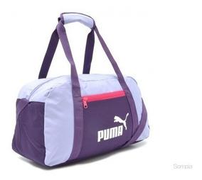 Mala Puma Phase Sports Bag Roxa - Original