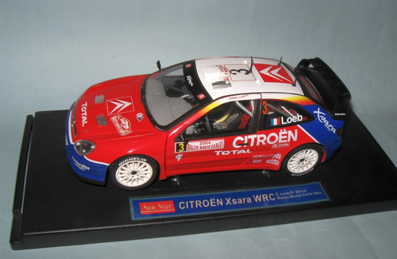 Citroen Xsara Wrc 2004 - Escala 1/18 Sunstar