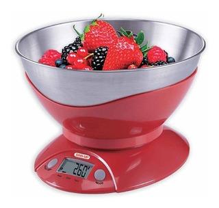 Balanza Cocina Digital Con Bowl Moderna - Luico Hogar