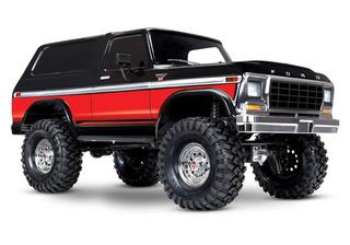 Traxxas Trx-4 Ford Bronco Ranger Xlt Rtr Rojo 82046-4