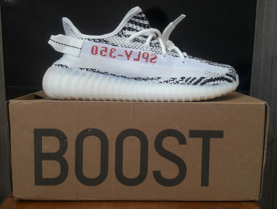 Tênis adidas Yeezy Boost 350 V2 Zebra Original