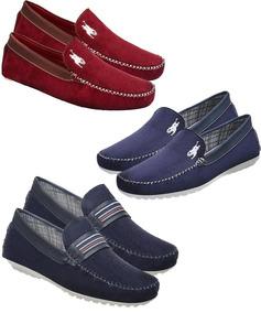 9c43c4e3af Lojas Polyelle Calcado Masculinos Mocassim - Sapatos Azul marinho no ...