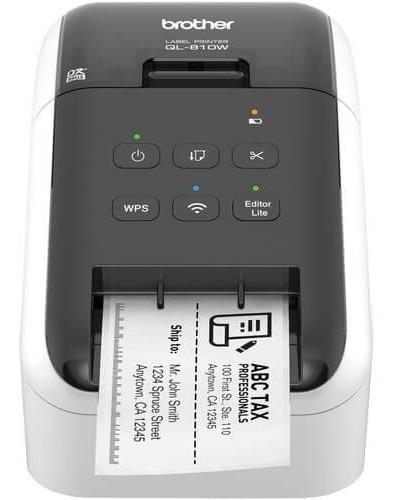 Impressora Termica Etiquetas Brother Ql-810w Wifi