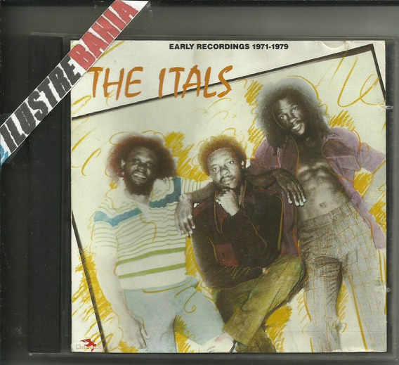 Cd The Itals Early Recordings 1971-1979