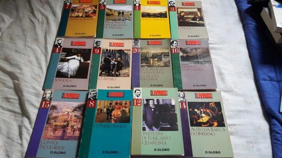Coleção Com 12 Livros/grandes Nomes Da Literatura