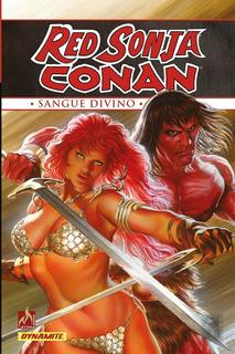 Hq - Red Sonja Conan - Sangue Divino