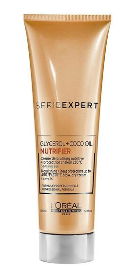 Crema De Peinado Protector Termico Nutrifier 150ml Loreal