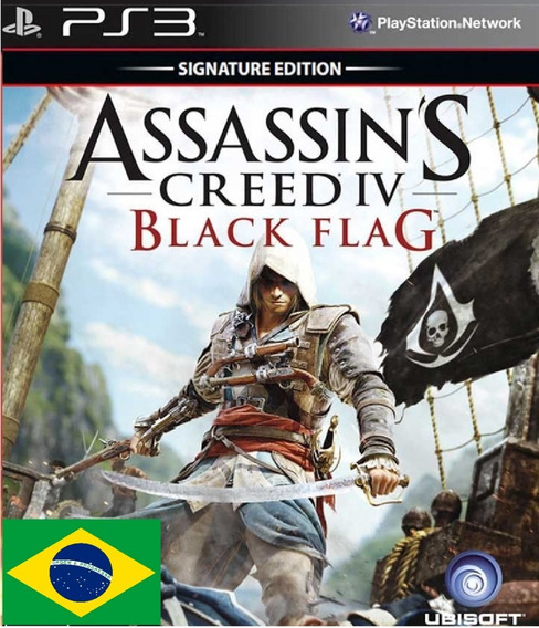Assassins Creed Iv Black Flag Psn Ps3 Envio Rapido Pt-br