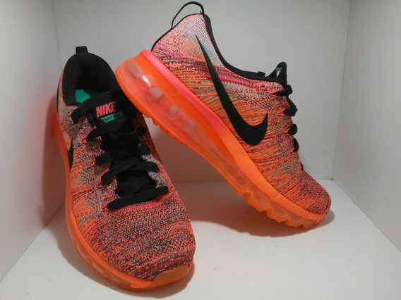Tênis Nike Flyknit Max Na Caixa Feminino N.36