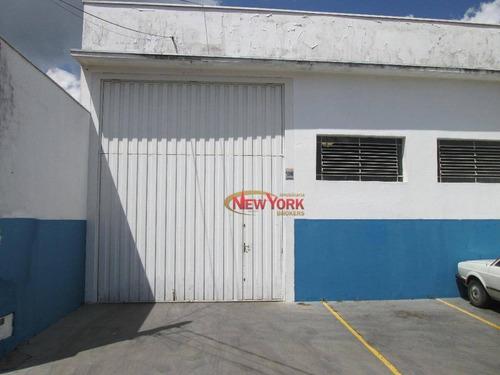 Barracão À Venda, 300 M² Por R$ 800.000 - Vila Irene - São Carlos/sp - Ba0012