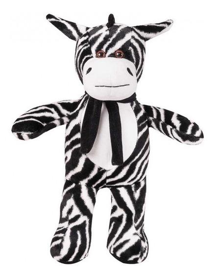 Zebra De Pelúcia Safari Mini