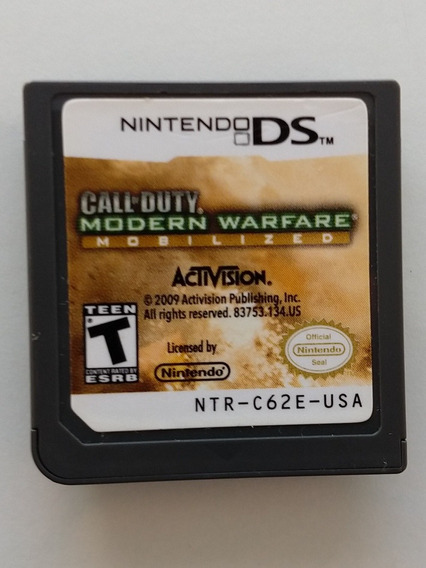 Call Of Duty: Modern Warfare Mobilized, Ds