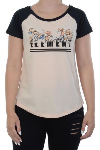 Blusa Element Bloc Raglan Laranja