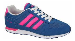Tenis adidas City Racer W B74492 Originales Remate Footbed