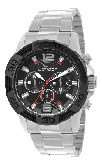 Relógio Condor Masculino Cronógrafo Esportivo Covd54ab 3p