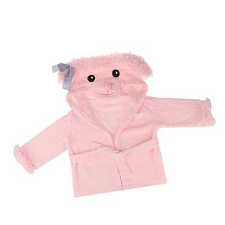 Vestido De Bata De Bebé Lindo Con Capucha Albornoz Toalla