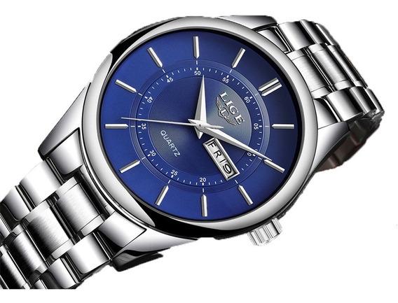 Reloj De Lujo Para Hombre Lige Moda1