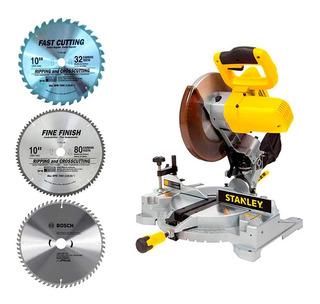 Ingletadora Stanley 10 Stsm1525 3 Disc 32 60 80-aluminio