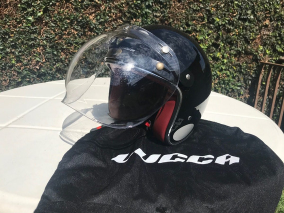 Capacete Lucca Custom New Glossy Black
