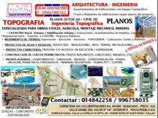 Topografia Especializada Para Obras Civiles Y En General