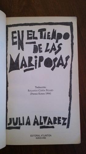 En El Tiempo De Las Mariposas - Julia Álvarez