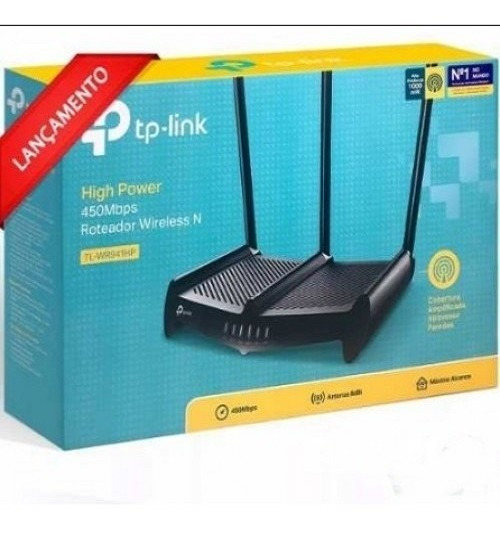 Roteador Tp Link Tl-wr941hp 450mbps Alta Potencia1000mw