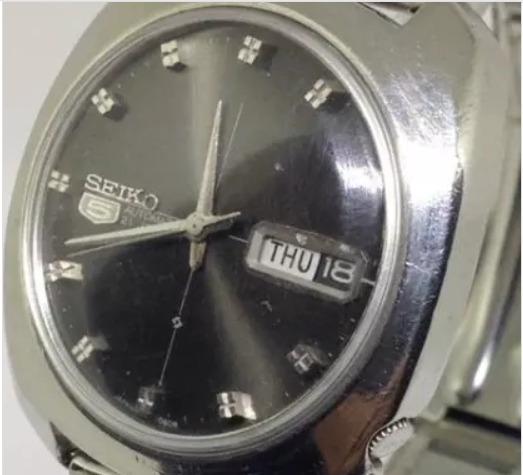 Relógio Pulso Seiko 5 Masculino Automático T07339 Webclock