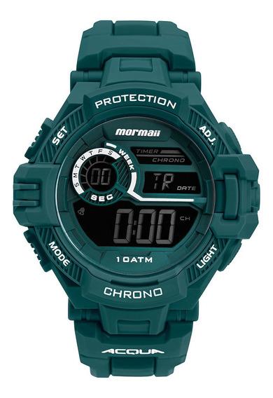 Relógio Digital Mormaii Action Verde Mo1134aa/8v